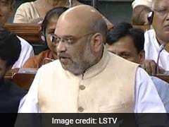"Parliament Live Updates: ""We Need To Unite Against Terrorism,"" Says Amit Shah"