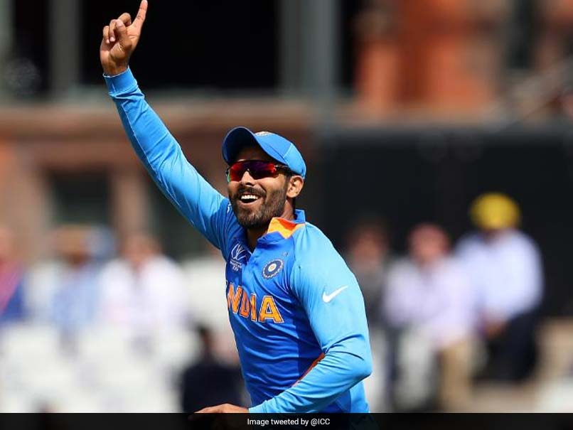 Watch: Ravindra Jadeja Takes Spectacular Catch To Remove Tom Latham In World Cup Semi-Final
