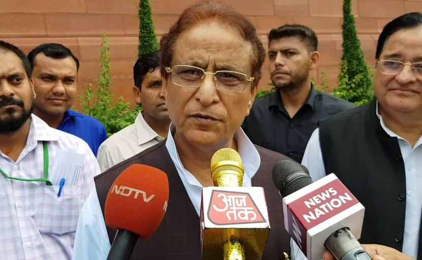 After 29 Cases Of Land Grab, Azam Khan Charged For Stealing Buffalo