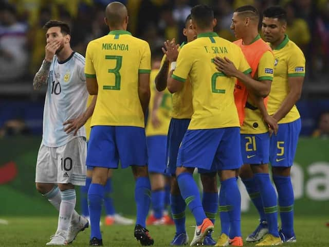 Brazil Beat Argentina 2-0 To Qualify For The Copa America Final