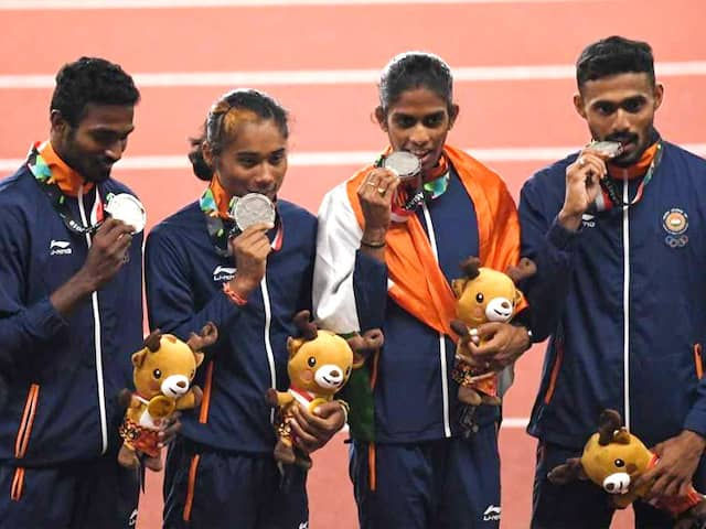 Asian Games: Indias Team Relay Silver To Be Upgraded To Gold In 4x400m Mixed