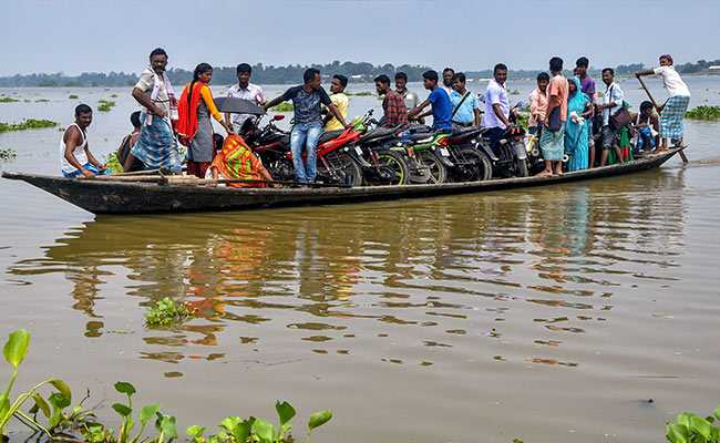 More Than 4 Lakh Affected In Flood-Hit Assam: Highlights
