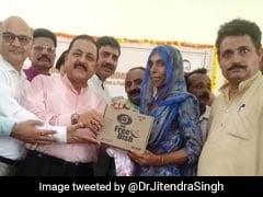 Minister Jitendra Singh Distributes Free Set-Top Boxes In J&K's Kathua