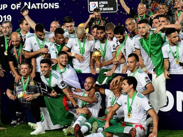 Algeria Sink Senegal To Claim Second Africa Cup Of Nations Title
