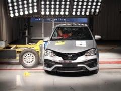 Brazil-Made Toyota Etios Scores 4 Stars At Latin NCAP Crash Test