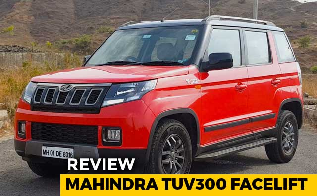 Video : Mahindra TUV300 Facelift Review
