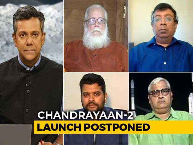 Video : Chandrayaan-2 Launch Aborted: What Went Wrong