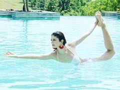 Pooja Batra's Aqua Yoga Pic Sends The Internet Into A Meltdown