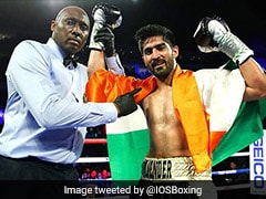 Vijender Singh Wishes To Return To Olympic Ring