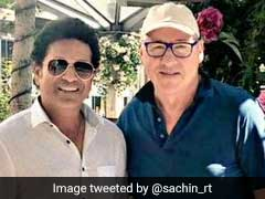 "Sachin Tendulkar Shares Picture With ""The Sultan Of Swing"""