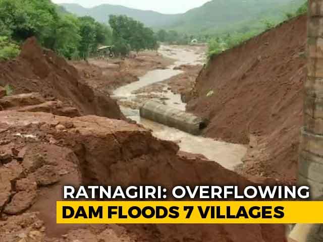 Video : 10 Dead, 14 Missing After Dam Breach Floods Villages In Maharashtra's Ratnagiri