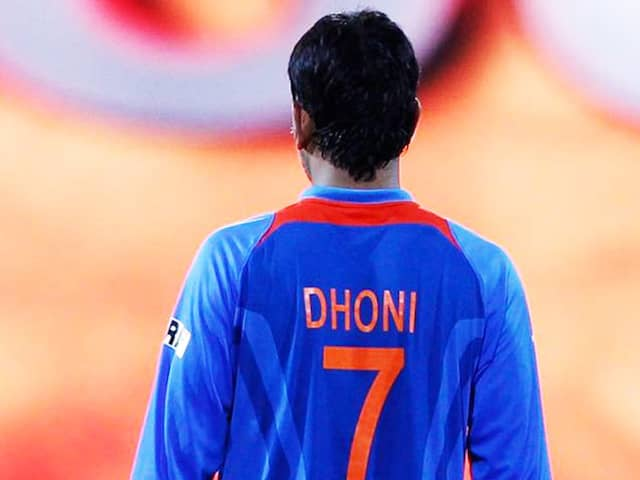 Is The BCCI ready to give Sachin like treatment ot MS Dhoni jersey against West Indies test series