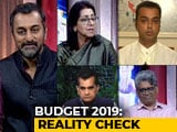Video : Budget 2019: Promise Vs Reality?