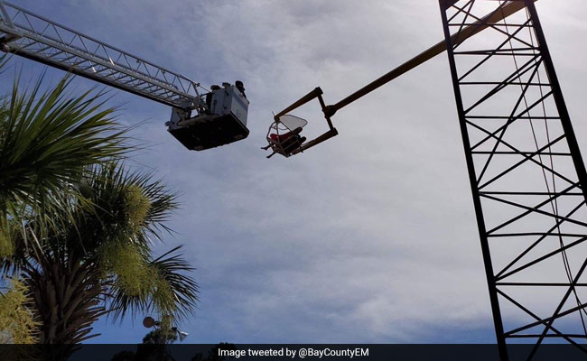 Rider Stranded 55 Feet In The Air After Power Failure