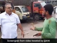 Shiv Sena Corporator Slaps Truck Drivers In Mumbai, Caught On Video