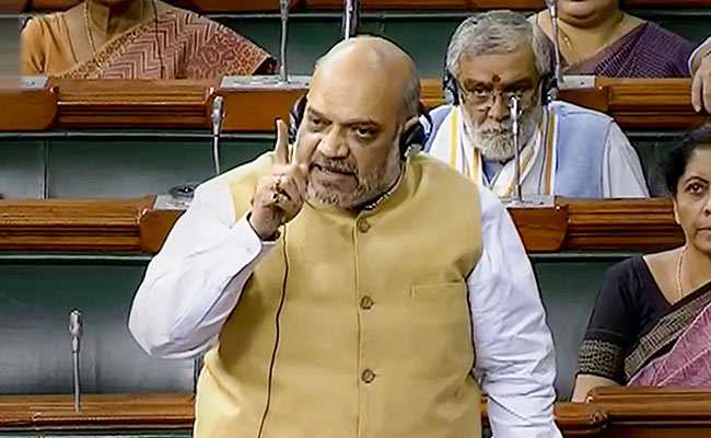 'Illegal Immigrants Living On Every Inch Will Be Deported': Amit Shah
