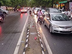 Hour-Long Traffic Jams In Delhi After Heavy Rain In Rush Hour