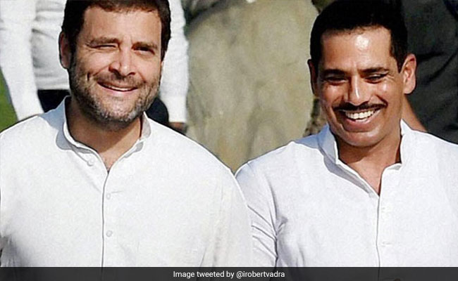 'Much To Learn From You': Robert Vadra Praises Rahul Gandhi On Facebook