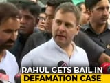 Video : Rahul Gandhi Granted Bail In Defamation Case Filed By Sushil Kumar Modi