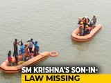 Video : Massive Search For Missing Coffee Day Boss And SM Krishna's Son-in-Law