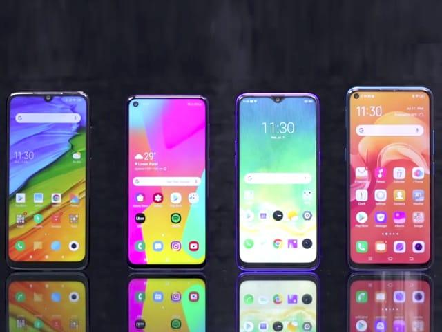 Video : Vivo Z1 Pro vs Redmi Note 7 Pro vs Realme 3 Pro vs Samsung M40 Best Phone Under Rs. 20,000?