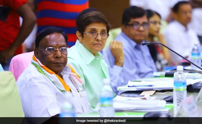 Puducherry Chief Minister, Kiran Bedi Meet To Discuss Budget