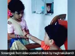 Rakshabandhan 2019: राखी नहीं बंधवा रहा था भाई, गुस्से में बहन ने खींचे बाल और... देखें VIDEO