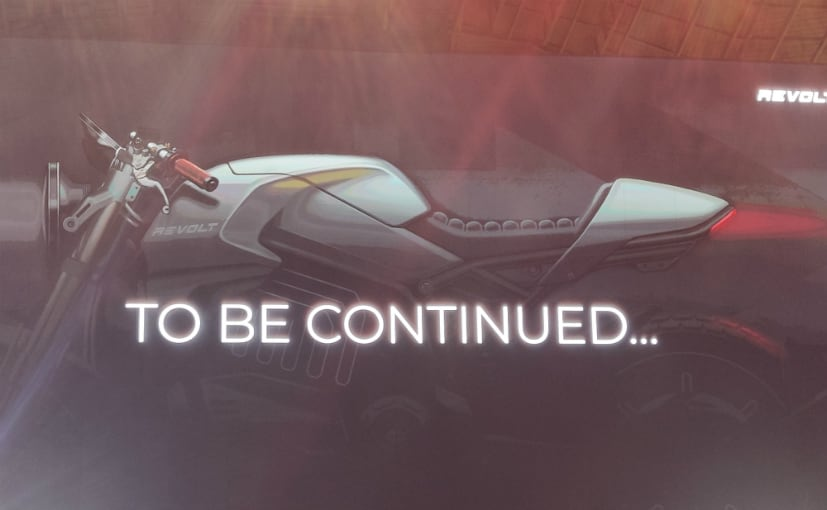 At the launch of the Revolt RV 300 and RV 400, Revolt had teased an electric cafe racer.