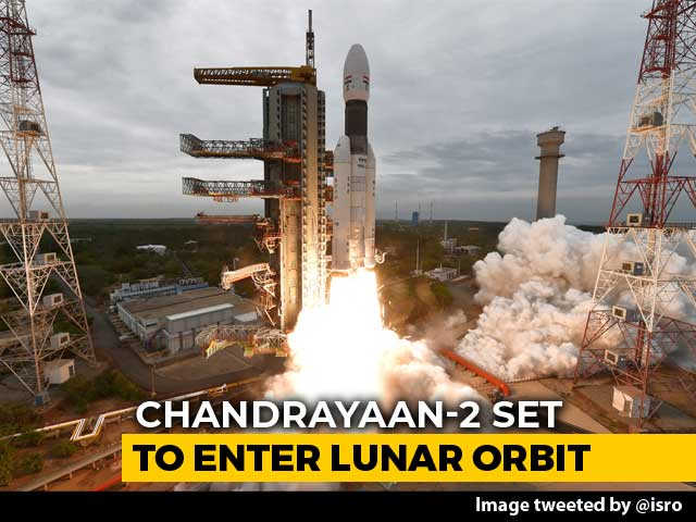 Video : As Chandrayaan 2 Nears The Moon, A Make-Or-Break Operation Today