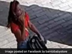Video: Woman Steals Stroller From Shop - And Forgets Her Baby Behind