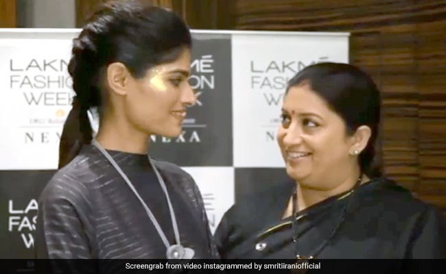 Rajasthani Model Is Insta-Famous As Smriti Irani Shares Her Story