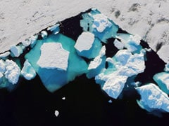 Watch: Greenland Ice Sheet Turns Into 10 Billion Tonnes Of Water In Hours