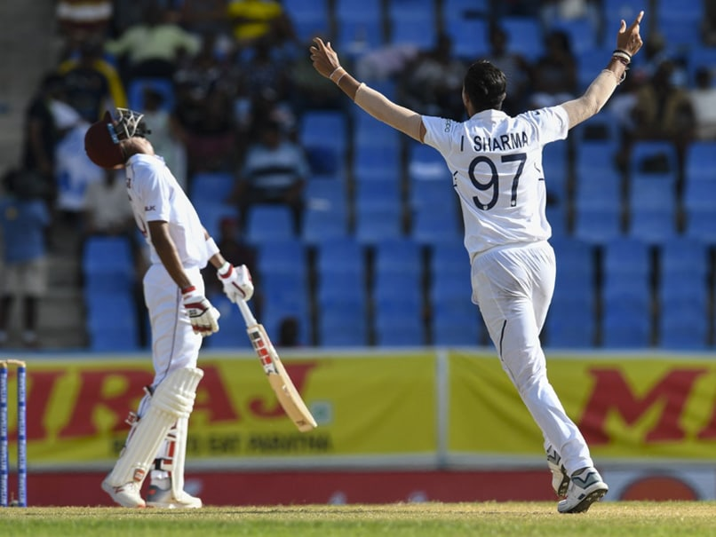 9th Five-Wicket Haul For Ishant Sharma To Put West Indies On Backfoot