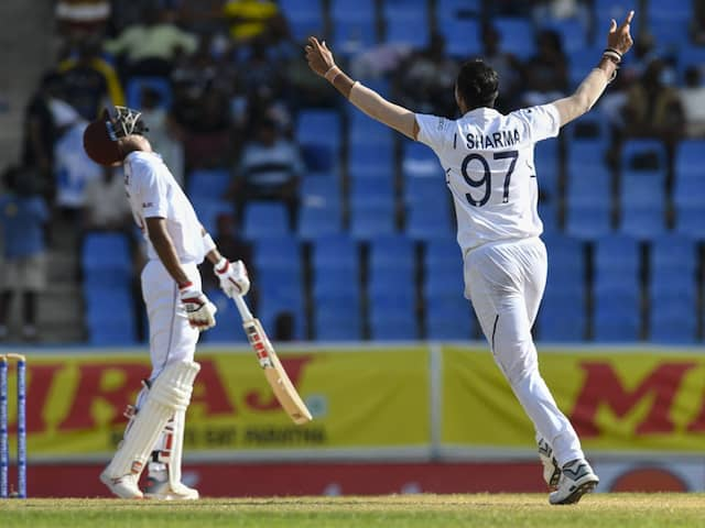 1st Test: Ishant Sharma Picks His 9th Five-Wicket Haul To Put West Indies On Backfoot