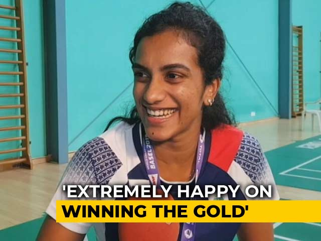 Video : I Meditate To Stay Calm: PV Sindhu To NDTV