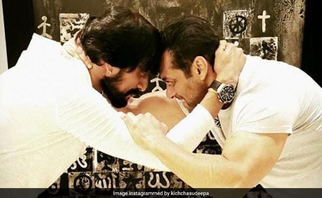 'Buddy, Kick Me,' Salman Khan Told Dabangg 3 Co-Star Kiccha Sudeep. But He Just Couldn't