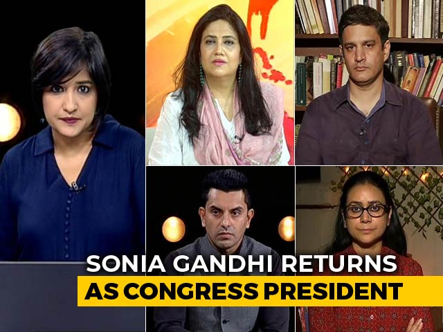 Video : Congress Picks Sonia Gandhi Again: Safe Bet Or Last Hope?