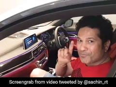 "Watch: Sachin Tendulkar ""Thrilled"" As His Car Parks Itself"