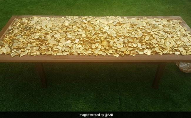 300 kg Fake Gold Found Hidden Under Karnataka Ponzi Scam Kingpin's Pool