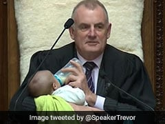 """""""A VIP Took Chair With Me"""": New Zealand Speaker Posts Pic Feeding Baby"""