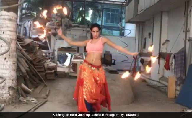 Nora Fatehi Learnt To Dance With Fire In Just 2 Days For O Saki Saki: 'Had Fear Written Over My Face'
