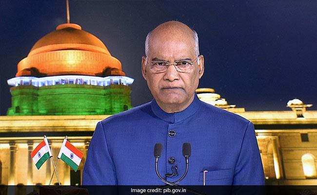 स्वतंत्रता दिवस की पूर्व संध्या पर राष्ट्रपति का देश के नाम संबोधन, कहा-  जम्मू-कश्मीर में किए गए बदलावों से लोग होंगे लाभान्वित