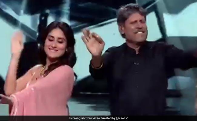 Dance India Dance में कपिल देव ने मचाया धमाल, करीना कपूर संग यूं किया डांस... देखें Video
