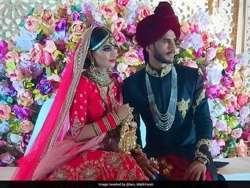 Pakistan Cricketer Hasan Ali Marries Indian Girl Shamia Arzoo In Dubai