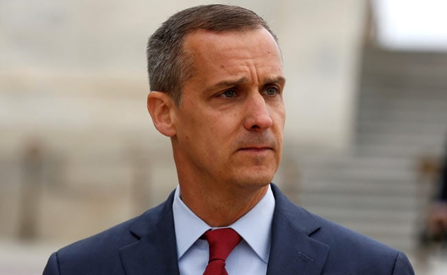 US House Panel Subpoenas Ex-Donald Trump Campaign Chief Corey Lewandowski