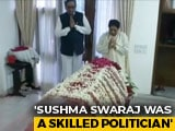 Video : BSP Chief Mayawati Pays Last Respects To Sushma Swaraj