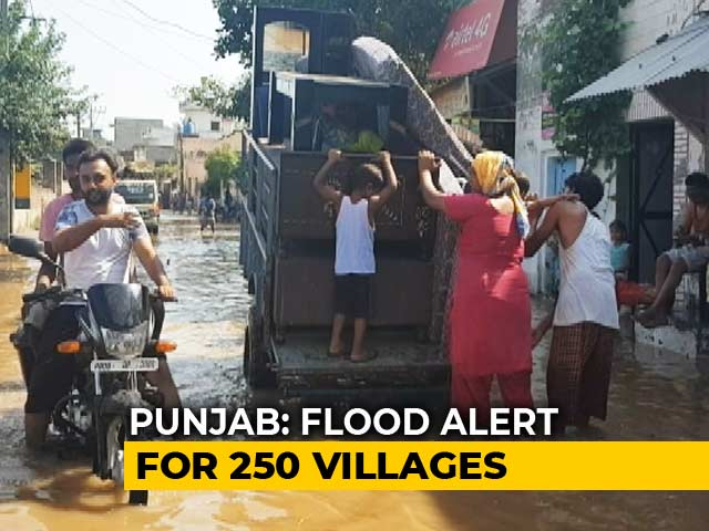 Video : No Rainfall, But Floods Keeps Punjab On Edge
