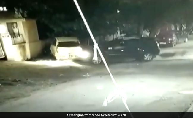 On CCTV, SUV Hits Parked Car 5 Times Before Driving Away In Pune