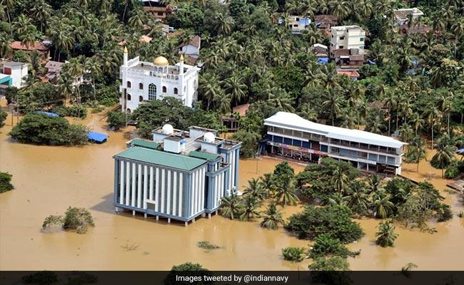 केरल में बाढ़ का कहर जारी, मृतकों की संख्या 70 के पार
