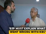 "Video : ""Indians Out, Foreigners In"": Tarun Gogoi Protests ""Faulty"" Citizens List"
